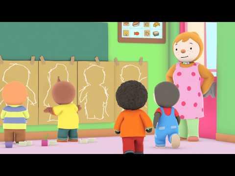 T'choupi à l'école - T'choupi tout plat (EP.7) thumbnail