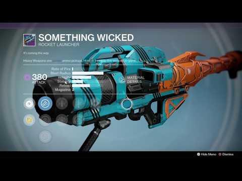 Destiny 1 Vendor & Faction Weapons (3-24-20)