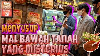 BELANJA DI PERTOKOAN BAWAH TANAH MISTERIUS (ADA MAKANAN ASIA LENGKAP!!)