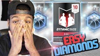 NBA 2k17 MyTeam - Easy 3x Diamond Pulls! New Dynamic Duo Packs!