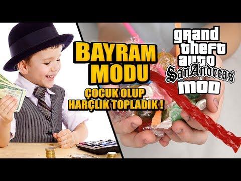 GTA SAN ANDREAS RAMAZAN BAYRAMI MODU - ÇOCUK OLDUK !