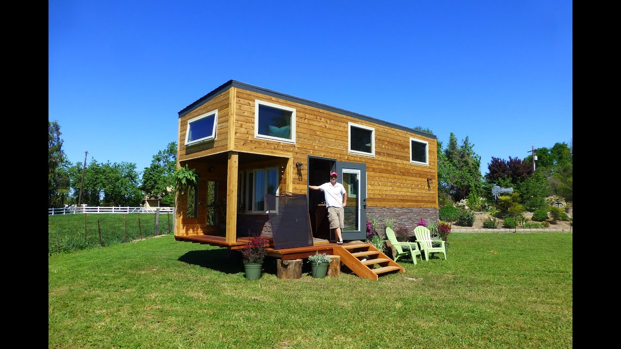 Tiny House Nation S3 E9 Backpack House Behind The