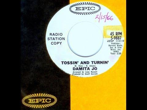 Damita Jo - TOSSIN' AND TURNIN' (Leon Russell) (1966)