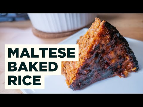 Maltese Rice Casserole - Ross Il Forn Recipe