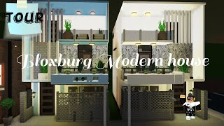 Modern Townhouse | Roblox Welcome to Bloxburg | TOUR