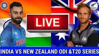 Live Score: New Zealand Vs India 5th ODI 2019 I Cricket live Streaming  I  Ind Vs NZ Live Match