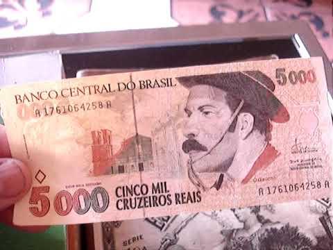 Cedula Dificil 5 Mil Cruzeiros Reais Gaucho Quanto Vale Veja Youtube