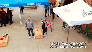 1st Of The Day LIONS TAILGATE PARTY