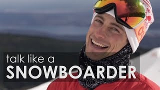 How to Talk Like a Snowboarder, feat. Craig McMorris