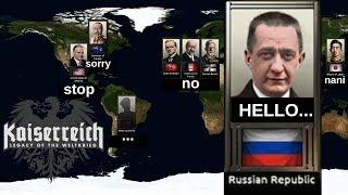 Hearts of Iron 4 - Kaiserreich Mod - Russia! - Part 3