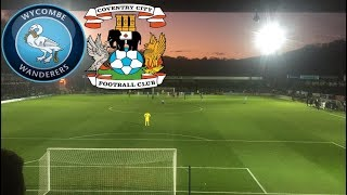Matchday Experience Wycombe Wanderers VS Coventry City 01/01/2019