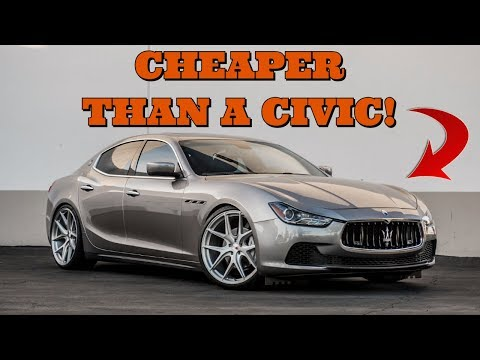 5 Cheap Luxury Cars That Fool People Into Thinking They're Expensive!