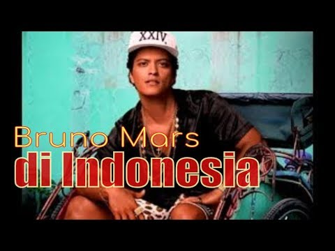 Bruno Mars In Indonesia