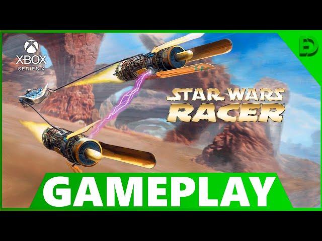 STAR WARS EPISODE I: RACER | UM CLÁSSICO DOS GAMES