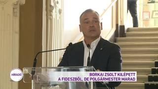 Borkai Zsolt kilépett a Fideszből, de polgármester marad