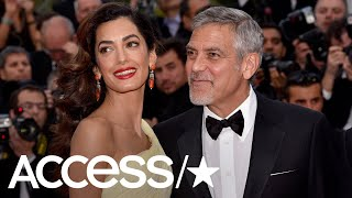 George Clooney Details How He First Met His Wife Amal Clooney! | Access