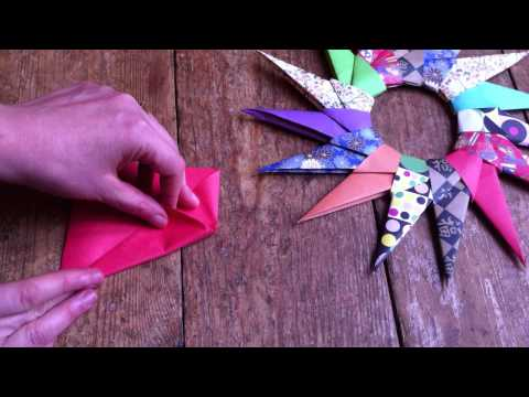 How to Make a Traditional Paper Star so easy!