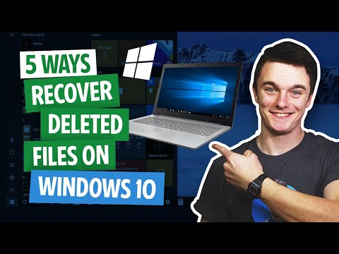 5 Free Ways To Recover Deleted Files On Windows 10