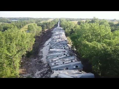 Woody's World - Massive Train Derailment