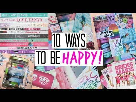 How to be HAPPY! – DIY's & Inspiration!