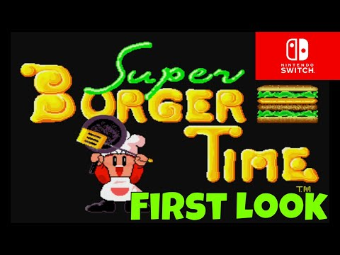 Super Burger Time for the Nintendo Switch