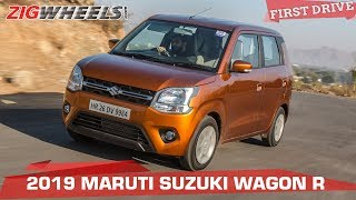 Maruti Wagon R 2019 Review | Now Sensible, Sophisticated and Desirable? | ZigWheels.com Video