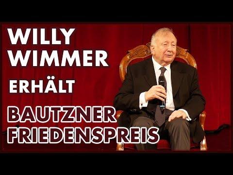 Willy Wimmer erhält den Bautzner Friedenspreis 2019