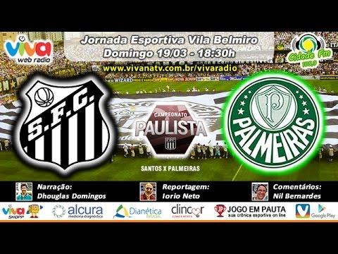 Santos x Palmeiras 19/03/2017