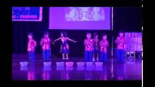 Welcome Songs- Joyous English School Annual function-2015