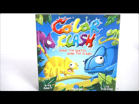 Color Clash from Blue Orange Games