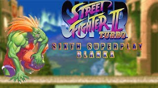 Super Street Fighter II Turbo - Blanka【TAS】