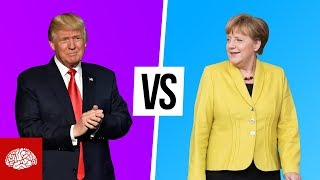 Donald Trump vs. Angela Merkel