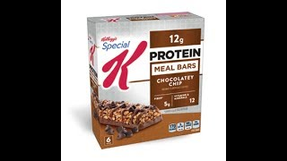 Honest Reviews: Special K Protein Meal Bar - Chocolatey Chip By oppermanfitness/#gains thumbnail
