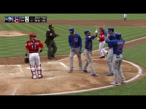 CHC@CIN: Contreras hammers a grand slam in the 2nd