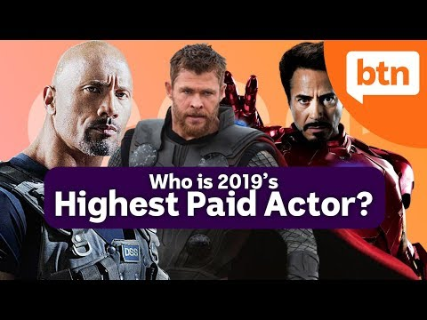 The Morning Rush - The list of 2019's highest paid actors and what they made
