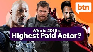 World's Highest Paid Actor: Dwayne Johnson, Chris Hemsworth, or Robert Downey Jr?