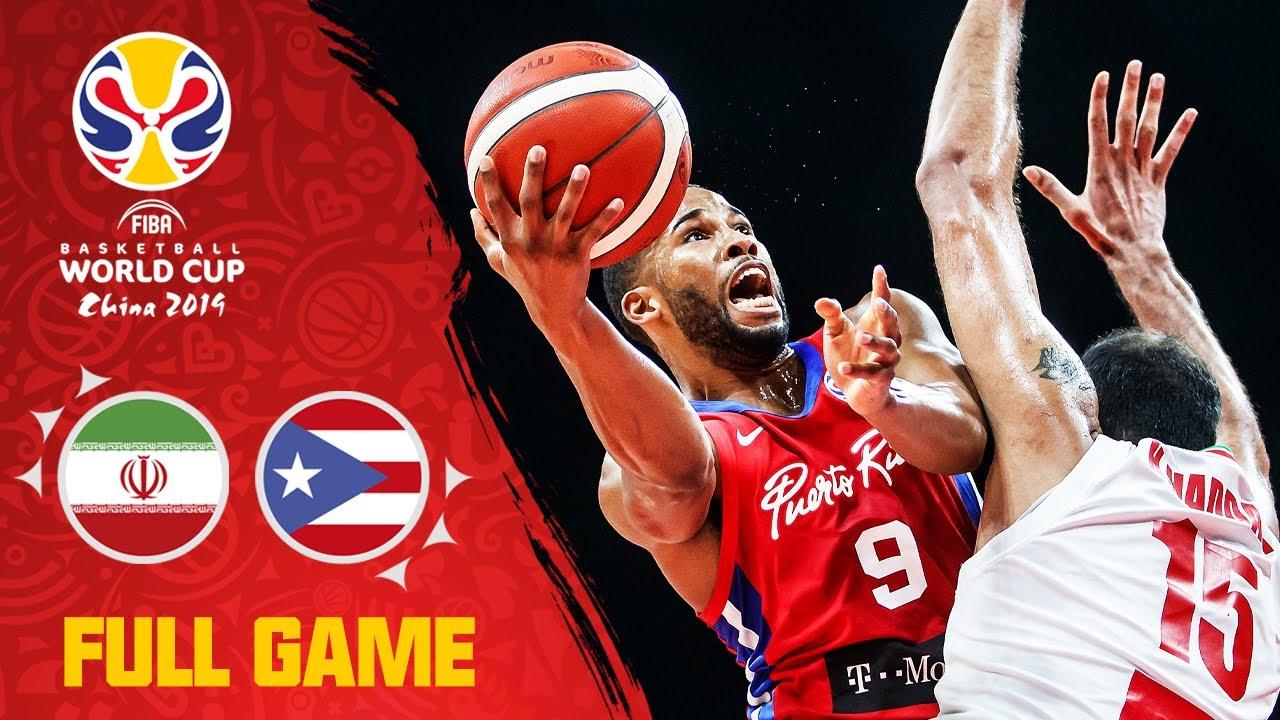 Puerto Rico slip past Iran! - Full Game