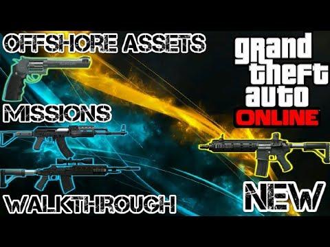 GTA 5 Online Gunrunning DLC Update Offshore Assets New Mission