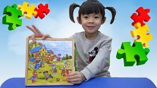 Trò Chơi Ghép Hình Thông Minh Cho Bé – Đồ Chơi Thông Minh ❤ AnAn ToysReview TV ❤
