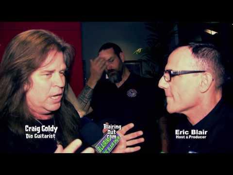 DIO's Craig Goldy & Eric Blair talk Vivian Campbell & Dio hologram