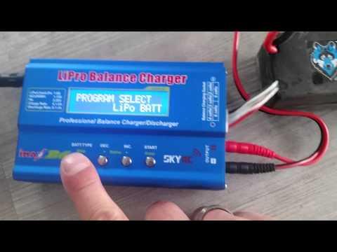 iMAX B6 AC S1-S8 RC Lipo/NiMH Akku Batterie Digitale Balance Charger Ladegerät