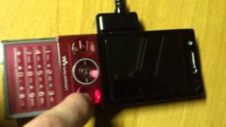 Sony Ericsson W705 PavelHecska