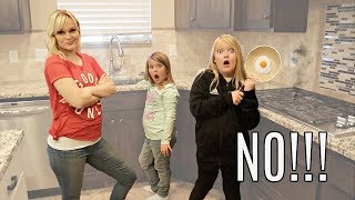 KID'S CAN'T SAY NO! Mom is in Charge for 24 Hours