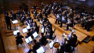 Composed by Joe Hisaishi Arranged by Kazuhiro Morita Performed by Mus'Art Wind Orchestra.