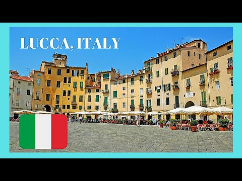 EXPLORING LUCCA, the most beautiful city in TUSCANY (ITALY), top attractions and sites