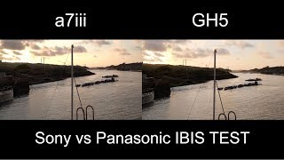 Sony a7iii IBIS vs GH5 IBIS (Good IBIS vs average IBIS)