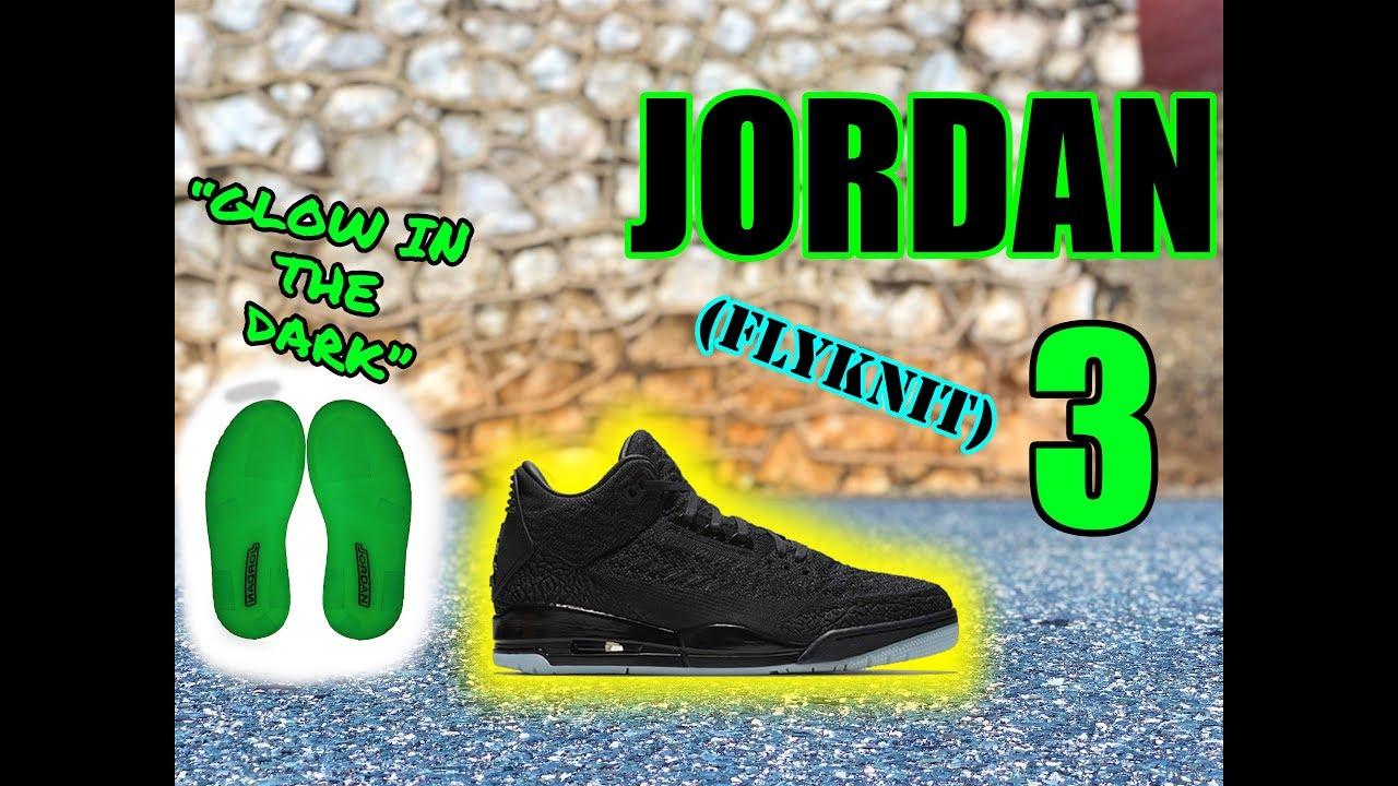 e1fd151938b402 REVIEW  Jordan 3 Black FLYKNIT