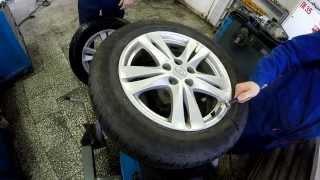 видео Замена шин на автомобиле: как правильно менять?