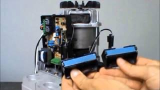 Como programar de tempo do automatizador deslizante RCG