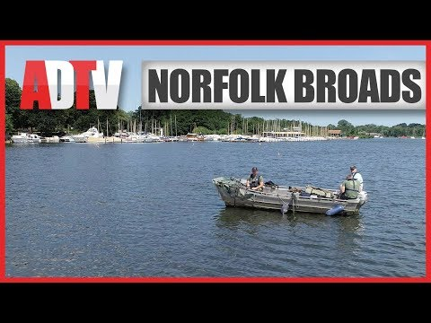 How To Fish The Norfolk Broads - Fishing From A Boat